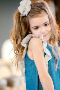 Robe trait pour trait enfant